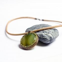 Achátový náhrdelník
