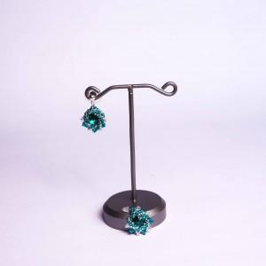 Náušnice Smaragdové