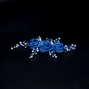 Ozdoba Růže královsky modré II