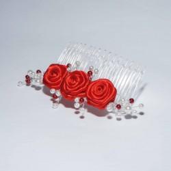 Hřebínek Červené růžičky světlé